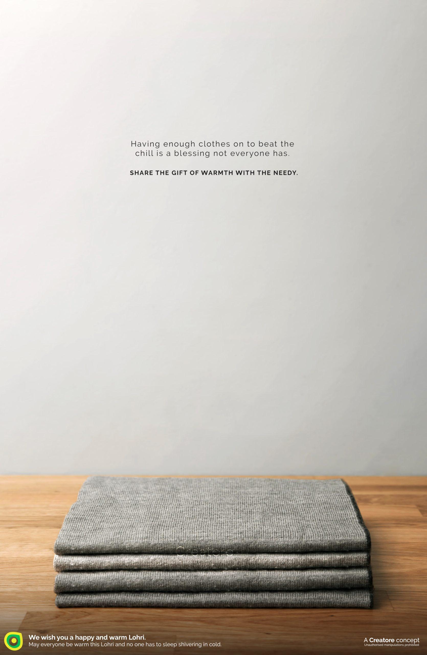Creative Advertising and Marketing Agency Lohri Corporate Greeting