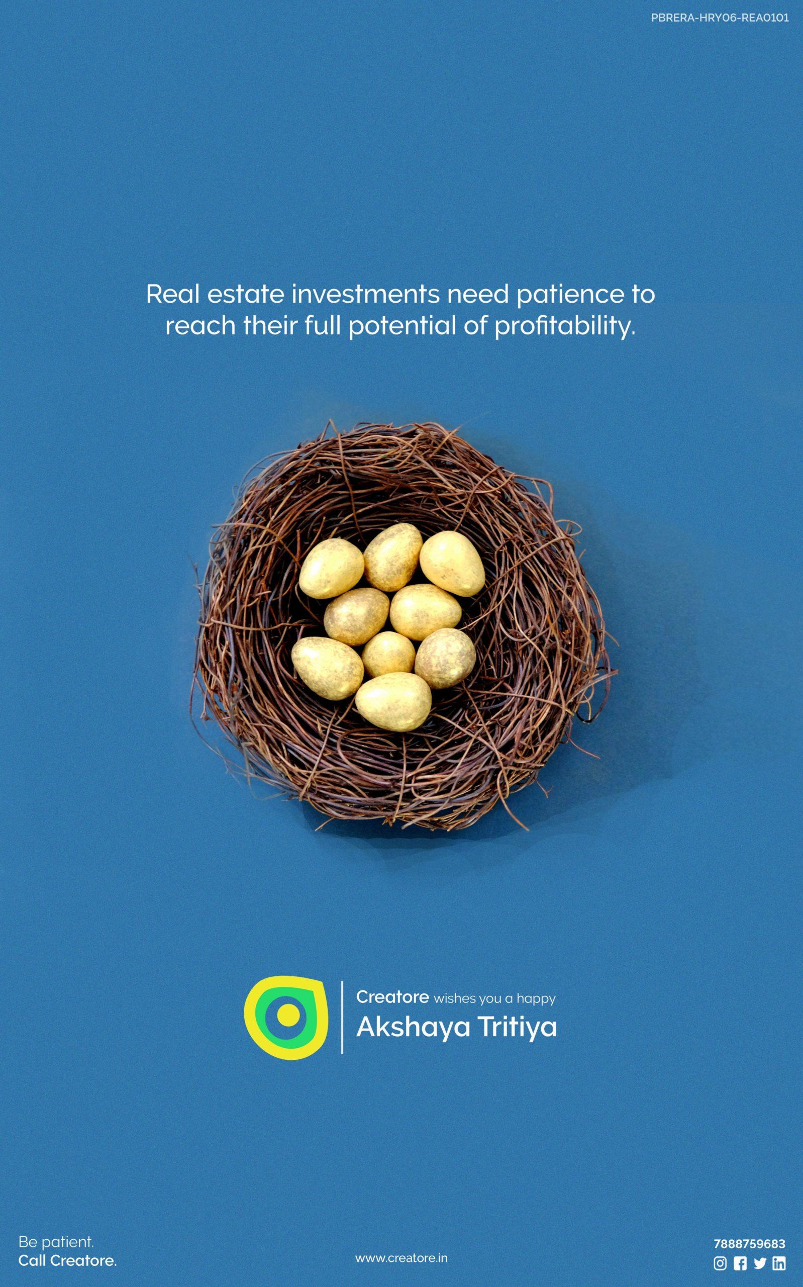 Creative Advertising and Marketing Agency Akshaya Tritya Corporate Greeting