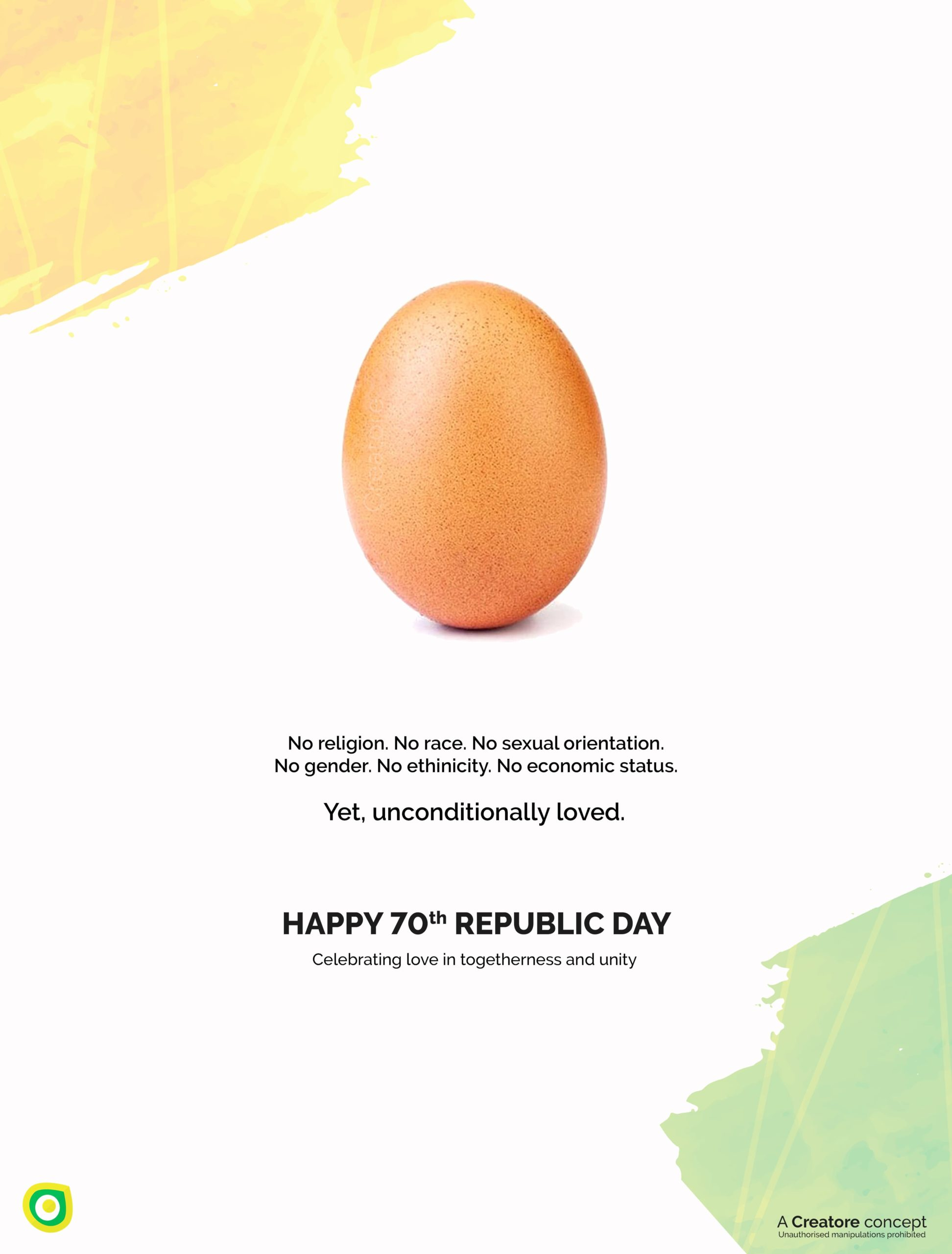 Creative Advertising and Marketing Agency Republic Day Corporate Greeting