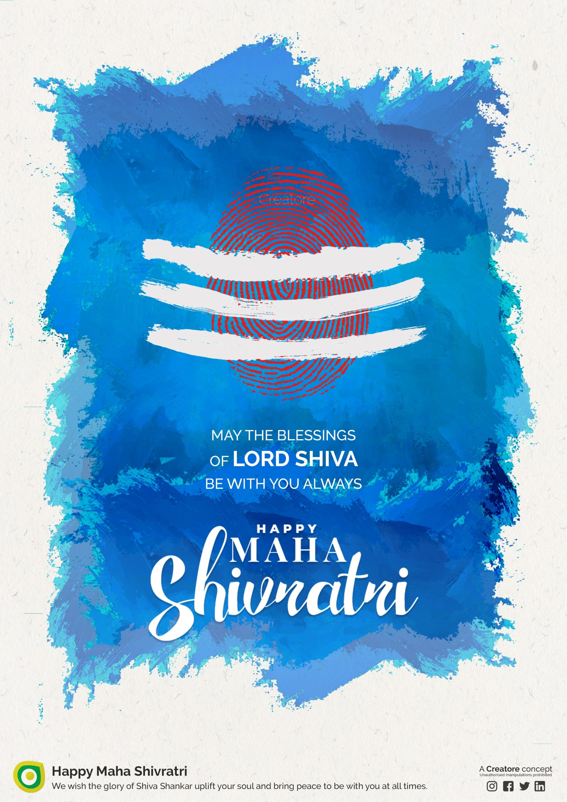 Creative Advertising and Marketing Agency Shivratri Corporate Greeting