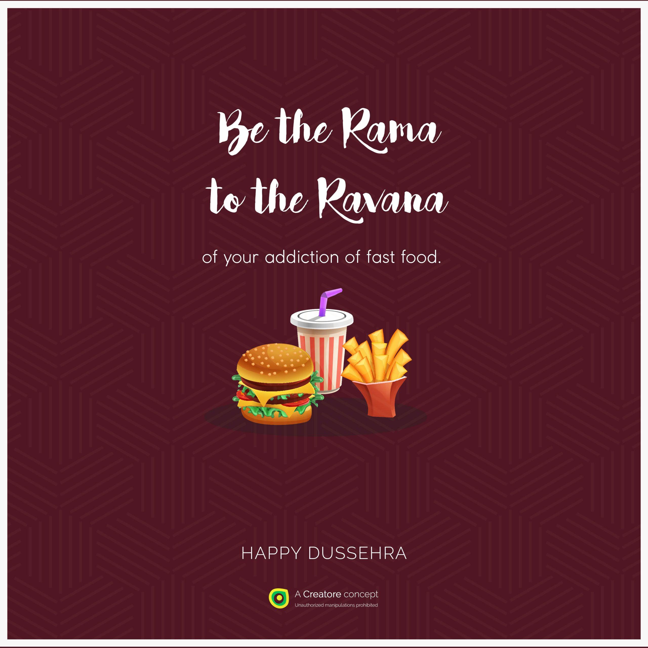Dussehra 2018 Fast Food