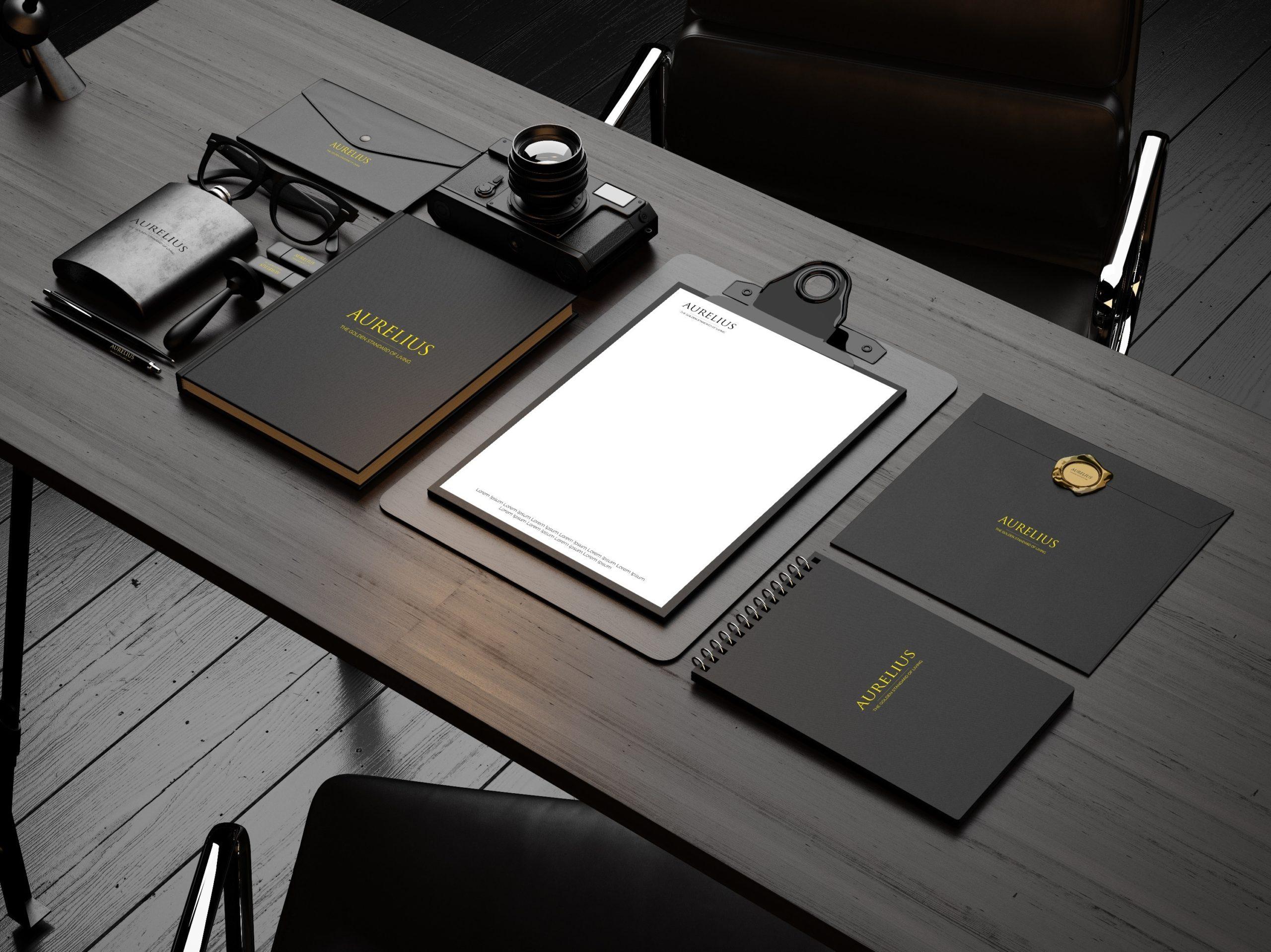 Creative Advertising and Marketing Agency aurelius-real-estate-branding-design-literature-7