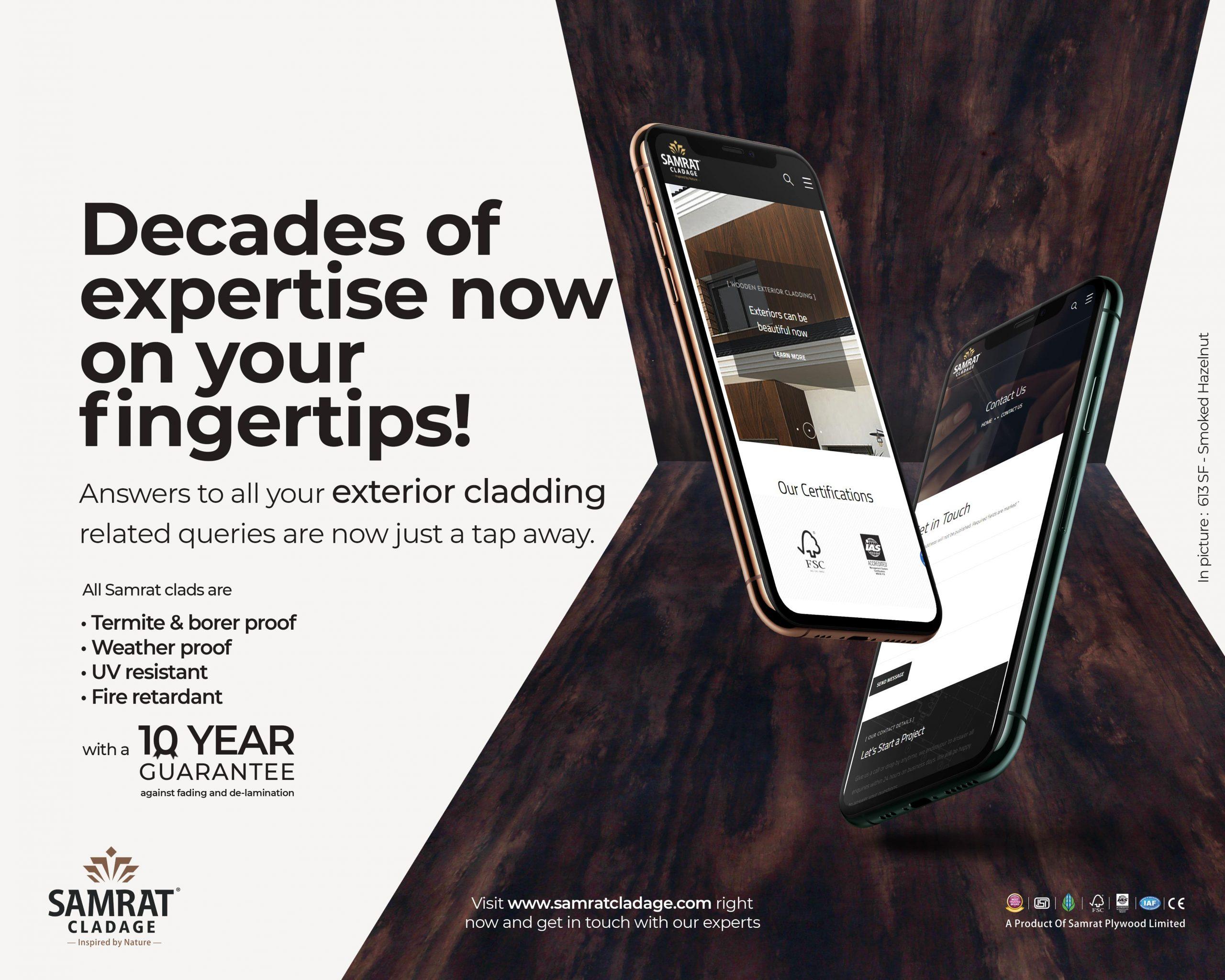 Expertise at fingertips